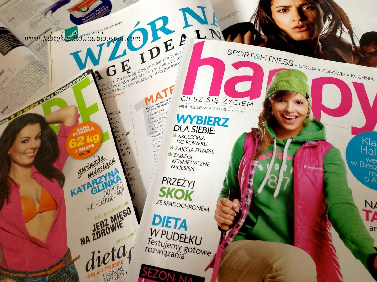 Nie ma magazynów FIT dla kobiet