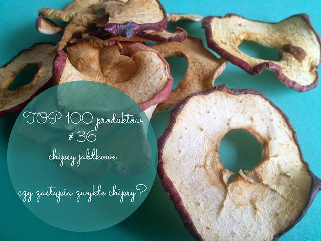 TOP 100 produktów #36 – chipsy jabłkowe i czy da się z nimi zastąpić zwykłe chipsy?