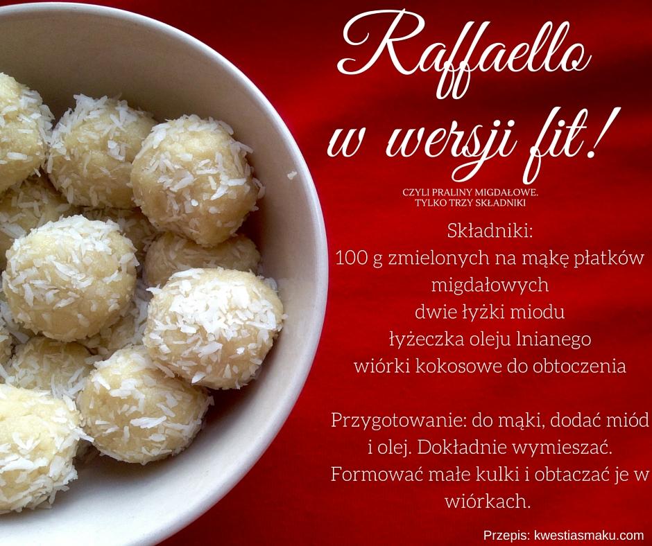 raffaello fit wersja migdały
