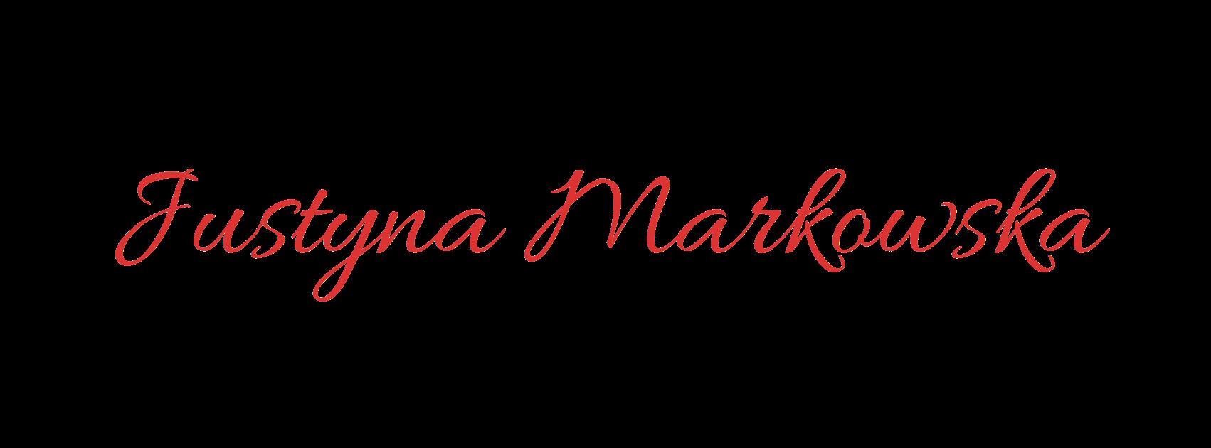 Justyna Markowska - dietetyk,  psychodietetyk Warszawa
